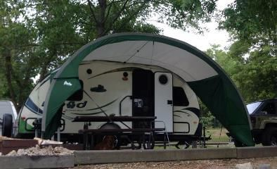 R Pod Trailer Awning By Pahaque Awpod 449 00 R Pod Pod Camper Trailer Awning