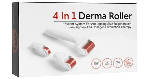 مجموعة ديرما رولر 4 في 1 للعناية بالبشرة متجر راق Anti Aging Skin Products Derma Roller Skin Tightening