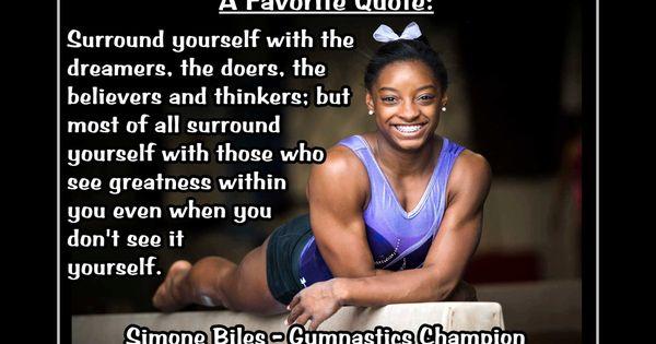 Gymnastics Motivation Simone Biles Gymnast Photo Quote