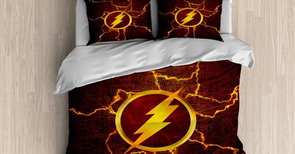 The Flash Bedding Superhero Duvet Cover The Flash Duvet