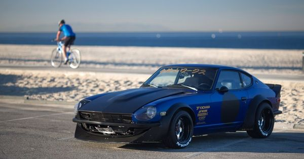 Larry chen speedhunters 260z blue 26 cars and bikes for Rolling motors san bruno ca
