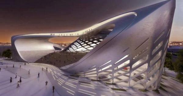Zaha architektur pinterest zaha hadid for Parametric architecture zaha hadid