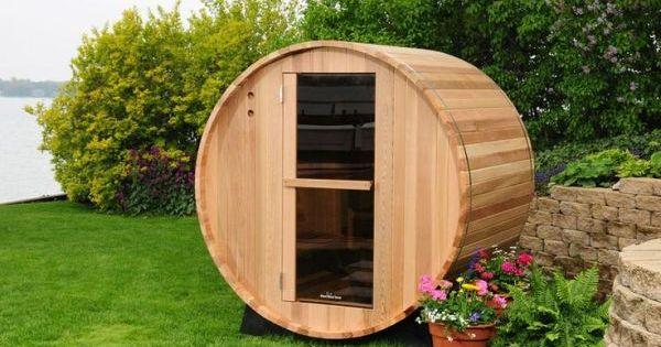17 Sauna And Steam Shower Designs To Improve Your Home And Health Sauna Diy Barrel Sauna Outdoor Sauna