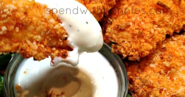 Doritos Crusted Chicken Strips - 1 Bag of Doritos (Nacho Cheese), 1