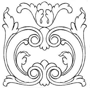 La Talla Ornamental En Madera Por Rogelio Riesgo Madera Dibujo Tallado En Madera Dibujos