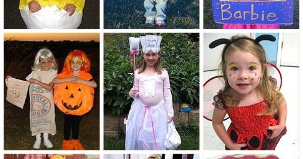 Homemade Costumes for Girls - a lot of costume ideas for Halloween!