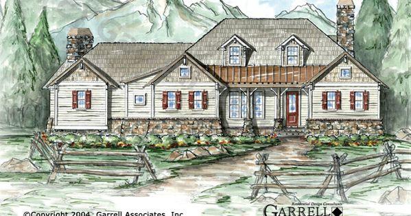 Garrell Associates Inc Ponderosa House Plan 01424