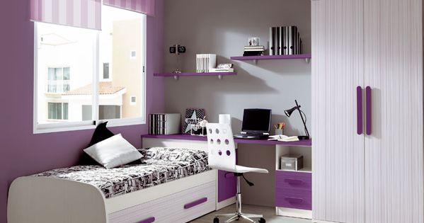 Cortinas y estores dormitorios juveniles decoraci n - Cortinas para habitacion juvenil ...