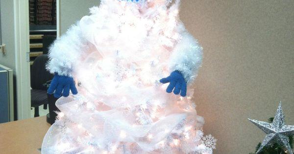 Abominable Snowman Christmas Tree