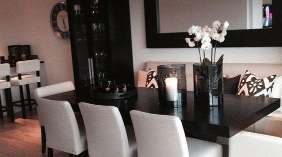 Como decorar un comedor moderno hola chicas si quieres - Centro de mesa de comedor moderno ...