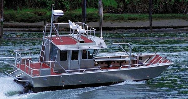 Work boat work boats work boat cargo landing craft for Aluminum craft boats for sale