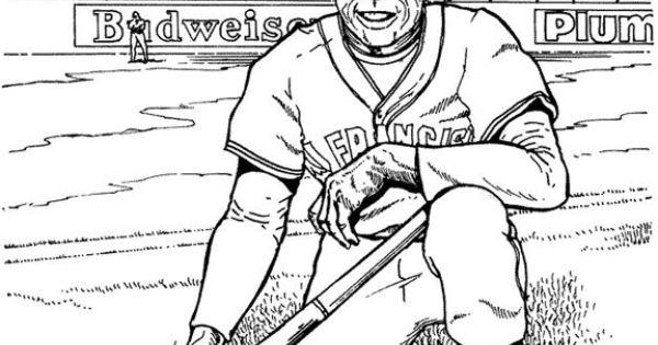 giants coloring pages baseball - san francisco giants player baseball coloring page