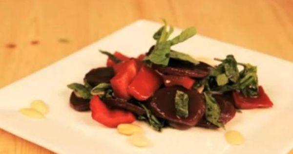 طريقة عمل سلطة الشمندر Delicious Beetroot Salad Recipes Middle East Recipes Beetroot Salad