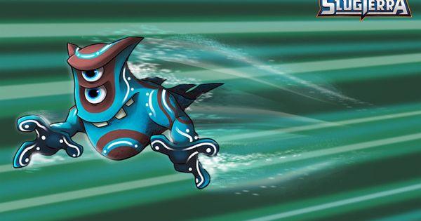 Mo The Enigmo Slug Coloring Page From Disney S Xd Slugterra Slugs Pokemon Fusion Art Cartoons Hd