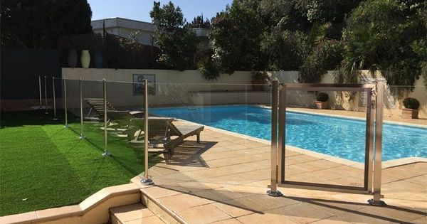 Exemple de barri re piscine oc anix piscine pinterest barriere piscine barri re et piscines - Barriere designpool ...