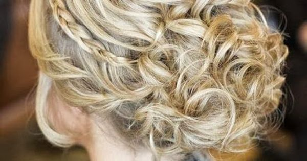 Messy updo, braided girl hairstyle Hair Style hairstyle