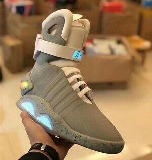 Air Mag Back To The Future Ebay Nike Mag Back To The Future 2016 Ebay In 2020 Nike Air Mag Nike Mag Nike Boots