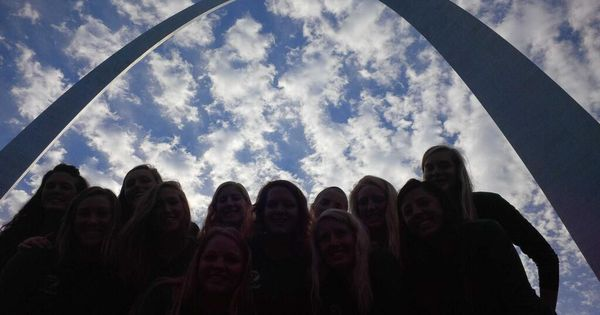 That S Right The Bemidji State University Volleyball Team Brought Beavernation To St Louis This Week Bemidji State University Maryville University Maryville