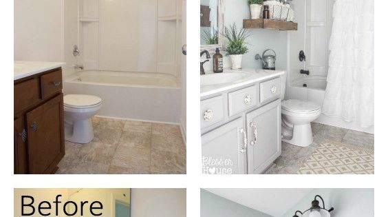 Five Tiny Bathroom Decorating Ideas Farmhouse Style