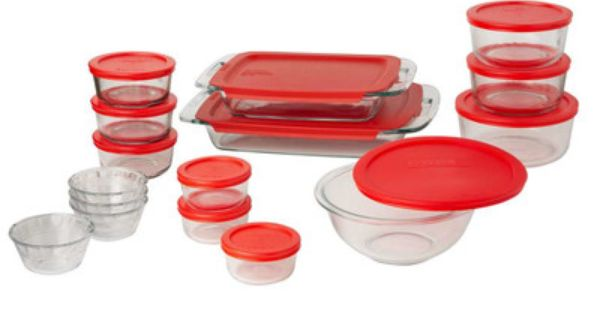 Features Set Includes Two 2 And 4 Cup Round Dishes Three 1 3 Cup Dishes 1 Mixing Bowl 2 3 Oblon Baking Dish Set Glass Food Storage Glass Bakeware Set