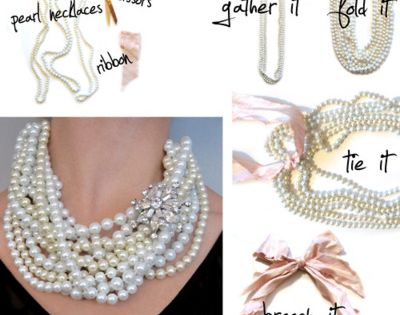 breakfast at tiffany pearls - a little idea for a party coming