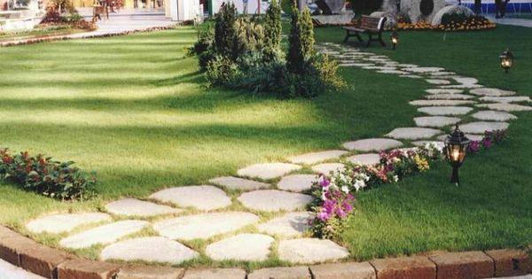 pavimentazione giardino outdoor : Pavimentazione da giardino - Sentiero per giardino