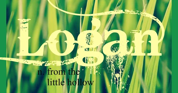 Baby Boy or Girl Name: Logan. Meaning: From the Little