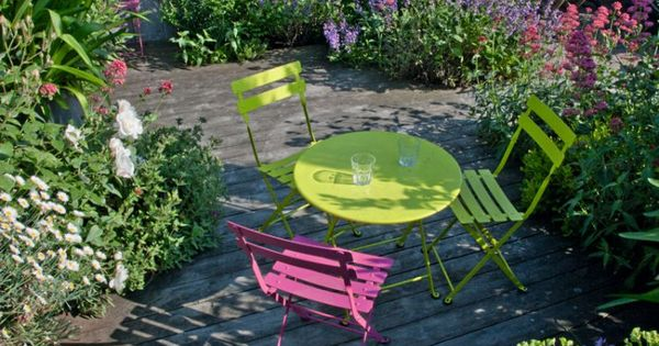 Du mobilier de jardin color paris et d co - Youtube deco jardin paris ...