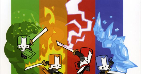 Cute And Funny Illustrated Wallpapers Of Aliens Castle Crashers Behemoth 2d Game Art