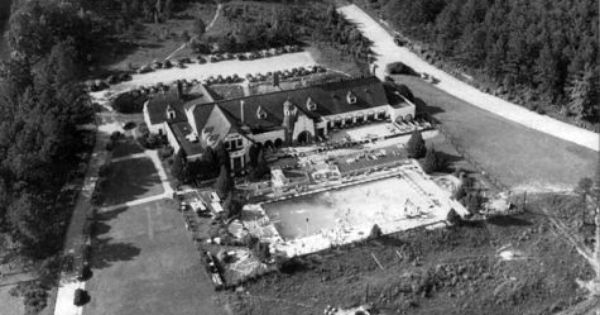 Aerial View Of The Hollywood Country Club C 1960s Birmingham
