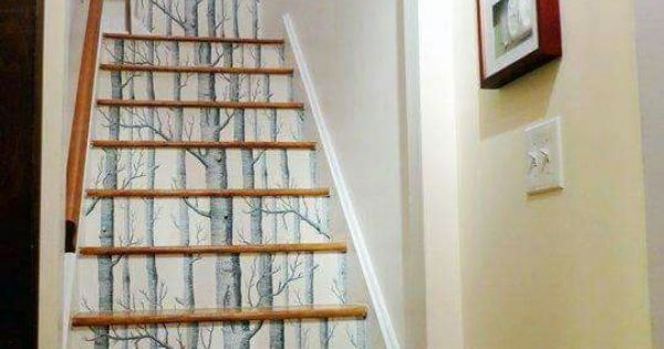 Stair Wallpaper Design My Next HOME Ideas