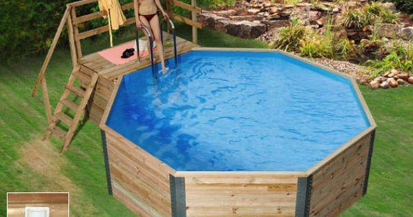 Abk Hlung holzpool weka korsika schwimmbecken aus holz eine erfrischende abk hlung an hei en