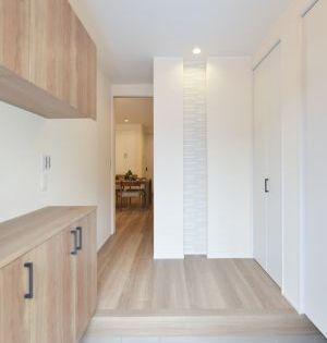 新築施工例16 リノベーション 玄関 玄関 内装 玄関