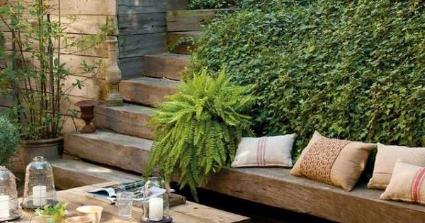 Aménagement paysager moderne: 104 idées de jardin design  Marches ...
