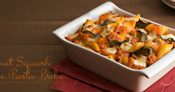 Pasta bake, Butternut squash and Squashes on Pinterest