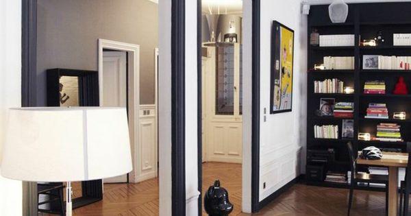 la moulure d corative dans 42 photos avec des id es moulures d coratives plafond et les salon. Black Bedroom Furniture Sets. Home Design Ideas