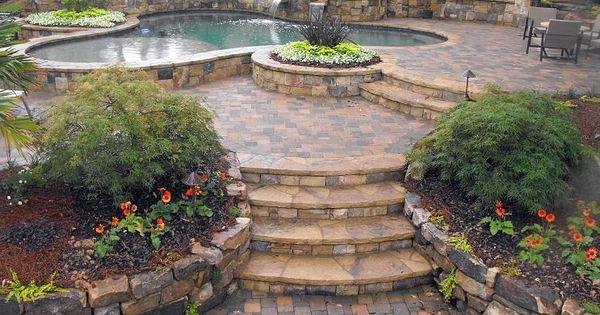 Backyard Pool Oasis my back yard to be....