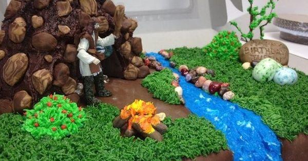 Man Cave Creations : Caveman man cave cake my creations pinterest