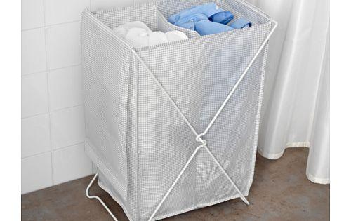 Ikea Torkis White Gray Laundry Basket Laundry Basket Ikea Ikea