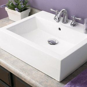 Decolav D14178cwh Classically Redefined Vessel Style Bathroom Sink