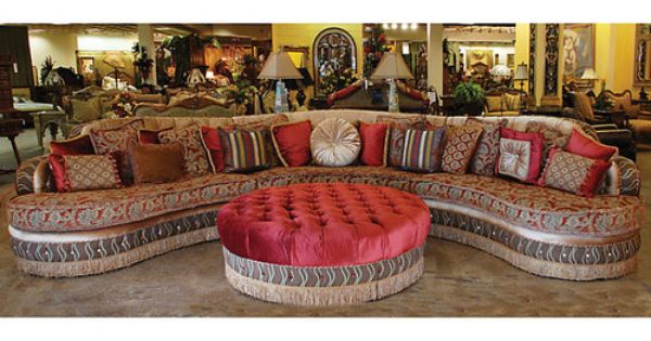 Magnificent Moroccan Style Sasha Grand Sectional Sofa