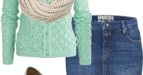 """mint & beige"" by elngad ❤ liked on Polyvore"