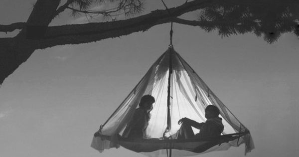 Hanging Camping Tent, coolest idea ever