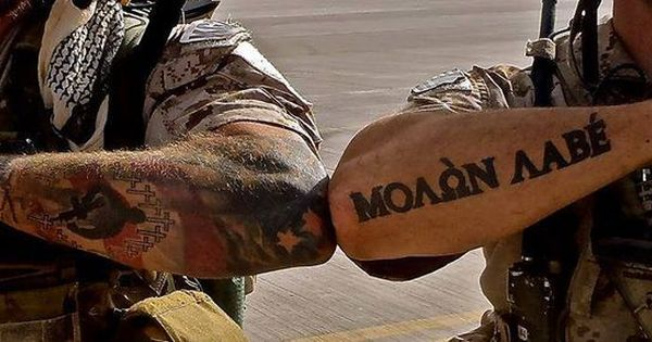 Molon labe tattoo give me guns pinterest molon for American revolutionary war tattoos