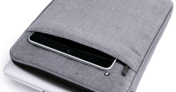 Laptop & iPad holder - wooly sleeve