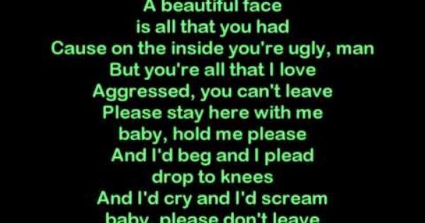 Eminem Stronger Than I Was Hd Lyrics Youtube Eminem Eminem Lyrics Lyrics