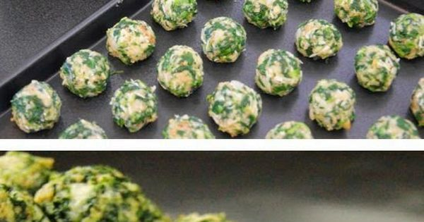 Spinach Balls ~ These were excellent! Made them for a dinner party