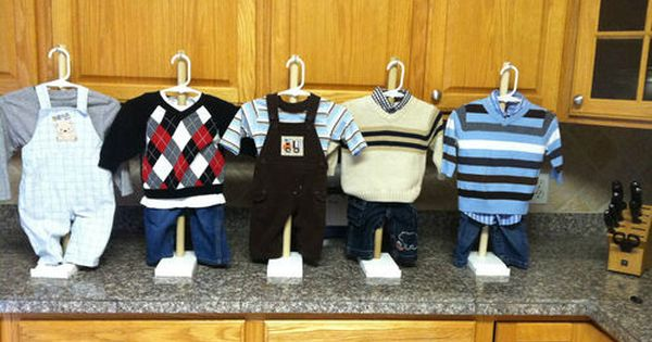 Baby Clothes Baby Shower Decorations