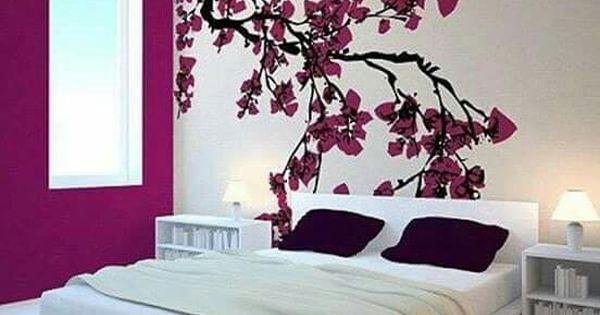 Cherry blossom bedroom home decor that i love for Cherry blossom bedroom ideas
