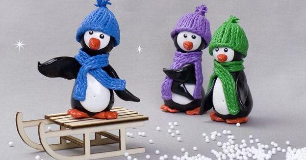 Tutoriel diy cr er la famille pingouin via - Pingouin rigolo ...